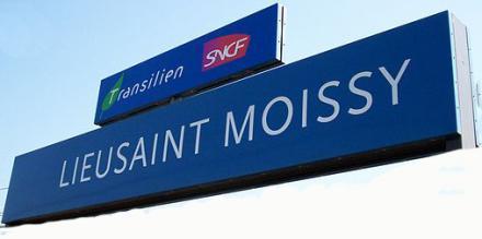 Gare RER D Lieusaint Moissy