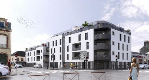 Prochainement r sidence les terrasses equeurdreville for Agence immobiliere cherbourg