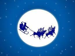 Traîneau du père Noël