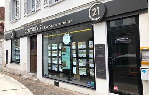 Agence immobilièreCENTURY 21 Rive Gauche Immobilier, 27200 VERNON
