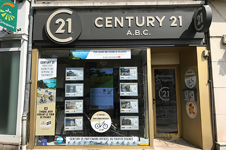 Agence immobili re chatellerault century 21 a b c en for Agence pierre chatellerault