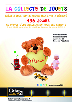 collecte de jouetscentury 21 Saint-Maur
