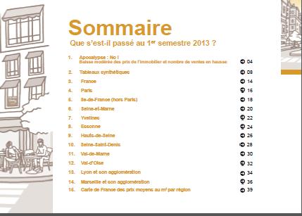 sommaire conference de presse century 21 juillet 2013