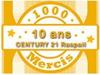 Logo CENTURY 21 Raspail