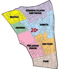 Le 20 me arrondissement de la vigne l urbanisation for Agence immobiliere 3eme arrondissement paris