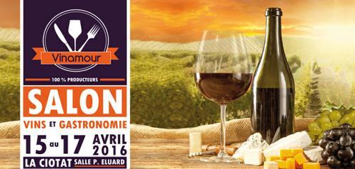 La Ciotat accueille le Salon des Vins et de la Gastronomie Vinamour