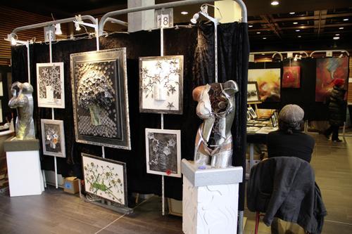 Expo peintures Lez'Arts