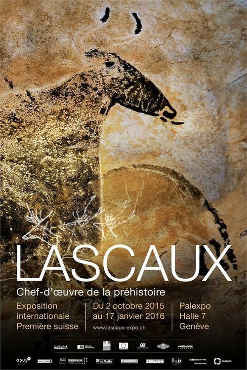 Affiche de l'expo Lascaux