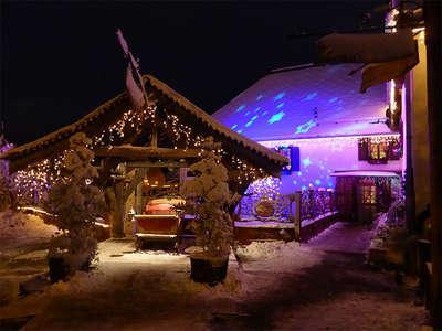 Le hameau de nuit