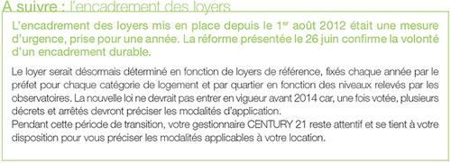 regards sur la gestion locative automne 2013 century 21 fortis immo agence immobili re paris. Black Bedroom Furniture Sets. Home Design Ideas