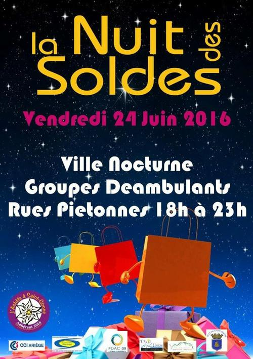 La nuit des soldes a saint girons century 21 pyr n es for Agence immobiliere saint girons 09200