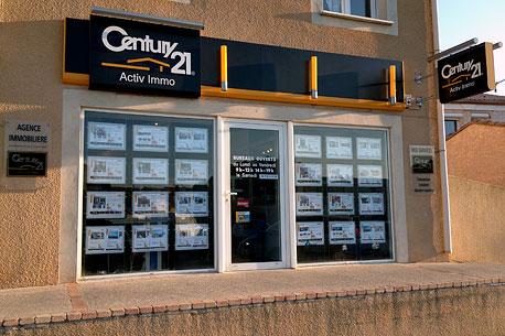 Agence immobilière CENTURY 21 Activ Immo, 34140 MEZE