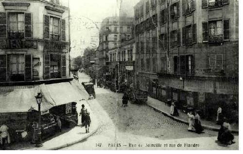 histoire de la rue de joinville paris 19e century 21 flandre crim e agence immobili re paris. Black Bedroom Furniture Sets. Home Design Ideas