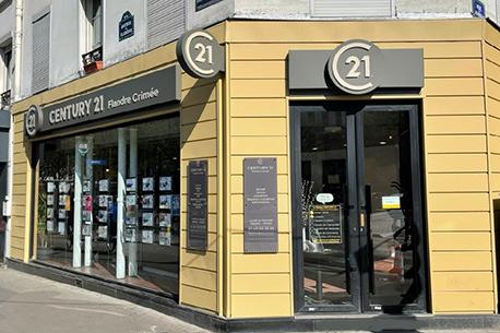 Agence immobilièreCENTURY 21 Flandre Crimée, 75019 PARIS