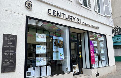 Agence immobilièreCENTURY 21 Concept Immobilier, 77170 BRIE COMTE ROBERT