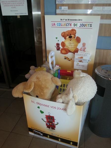 Collecte jouets
