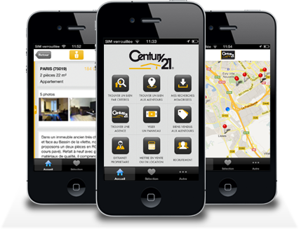 APPLICATION APPLE CENTURY 21