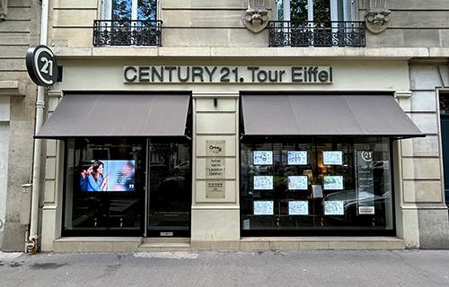 Agence immobili re century 21 tour eiffel paris 07 paris - Century 21 paris 18eme ...