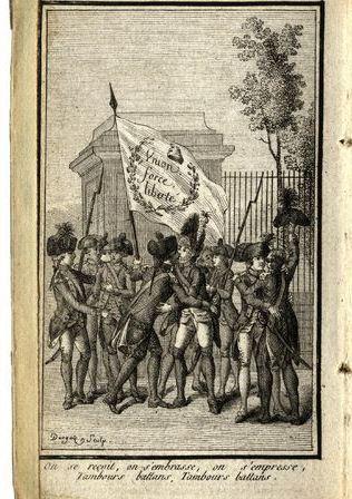 Les droits de l'homme 1790