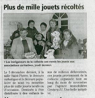 Article Journal de l'Indépendant