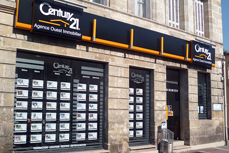 Agence immobili re century 21 agence ouest immobilier for Agence gironde
