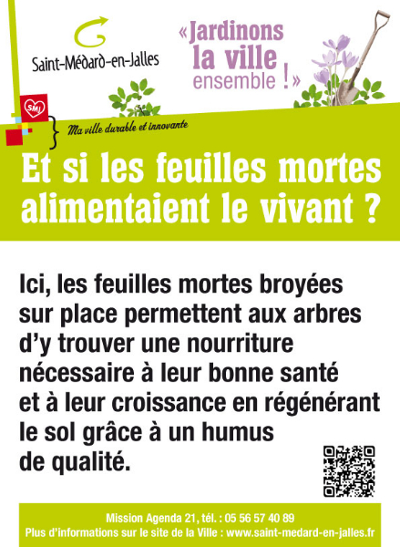 Saint-Médard-en-Jalles : Des panneaux pour sensibiliser au développement durable