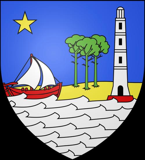 blason emblème logo de la teste de buch immobilier 33260 cazaux