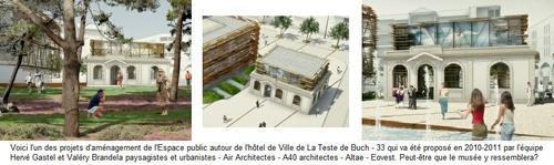 projet mairie musée à la teste de buch
