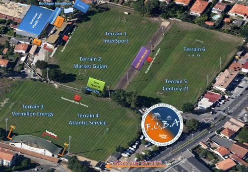 terrain de foot la teste