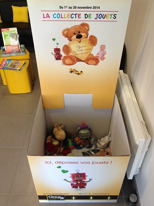 La grande récolte de jouets 2014 sur Carquefou commence