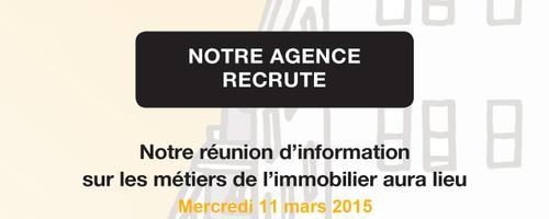 Soirée carrière sur les métiers de l'immobilier par votre agence Century 21 à Carquefou