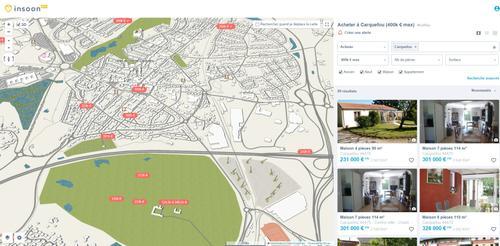 l'agence immobilière Century 21 CAI de Carquefou est sur Insoon