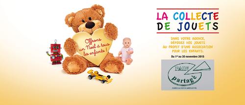 Collecte de jouets par l'agence immobilière Century 21 de Carquefou