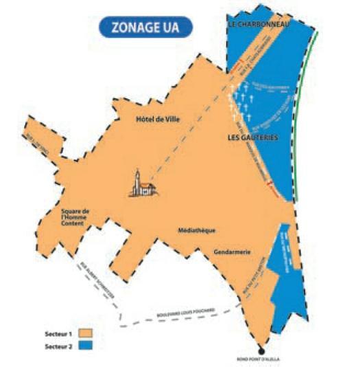 Zone 1 d'urbanisme sur Carquefou pour la construction d'immeuble / appartement