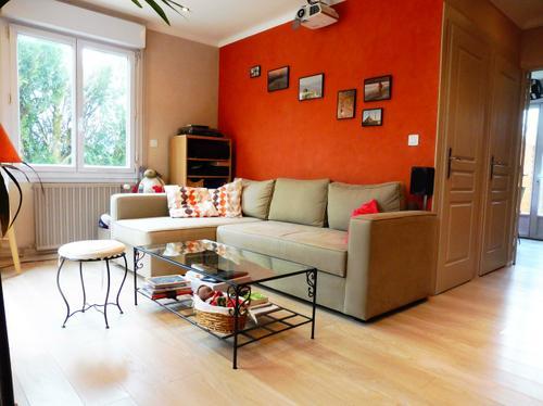 Salon maison 2 chambres à vendre à Sainte Luce sur Loire par l'agence immobilière Century 21 de Carquefou