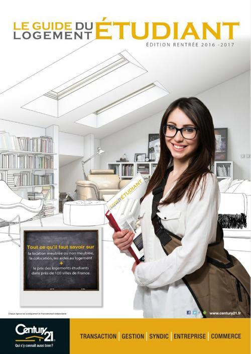 Guide du logement étudiant par les agences immobilières Century 21