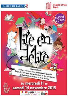 Vive la lecture avec lire en d lire paris 11 me for Agence immobiliere 75011