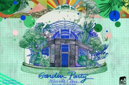 Une garden party la slow galerie exposition paris for Agence immobiliere 75011