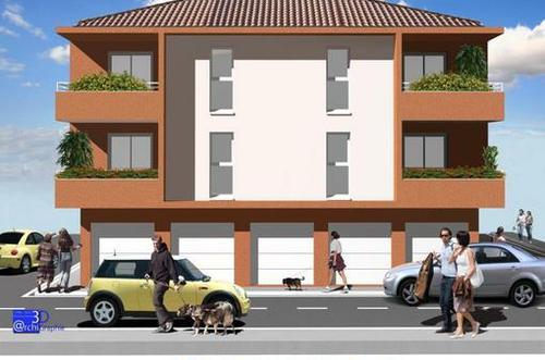 appartement F3 neuf à vendre à Cabestany