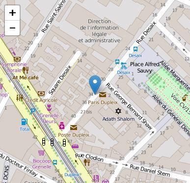 La rue desaix paris 15 par century 21 la motte picquet for Agence immobiliere 3eme arrondissement paris