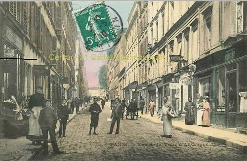 Rue de la tour d'Auvergne