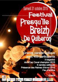 Festival Prequ'île Breizh 2015