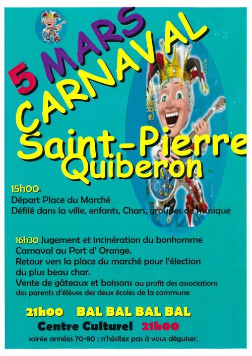 Carnaval Saint-Pierre-Quiberon 2016