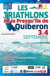 Triathlons Quiberon 2016