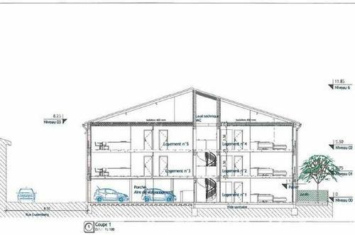 Exemple d'une résidence neuve sur plan à Toulouse