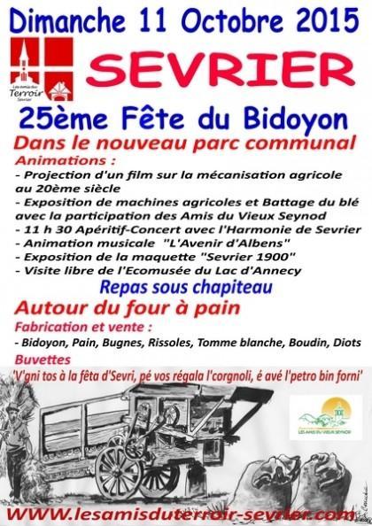 fête bidoyon annecy sevrier gestion location transaction century 21