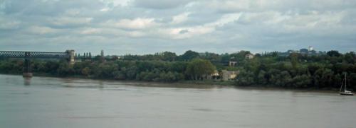 St André de Cubzac depuis le port