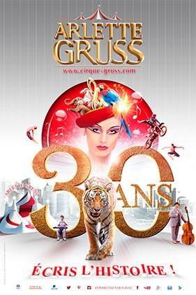 Cirque Arlette Gruss à Valbonne