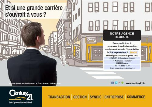 Recrutement Mougins Immobilier