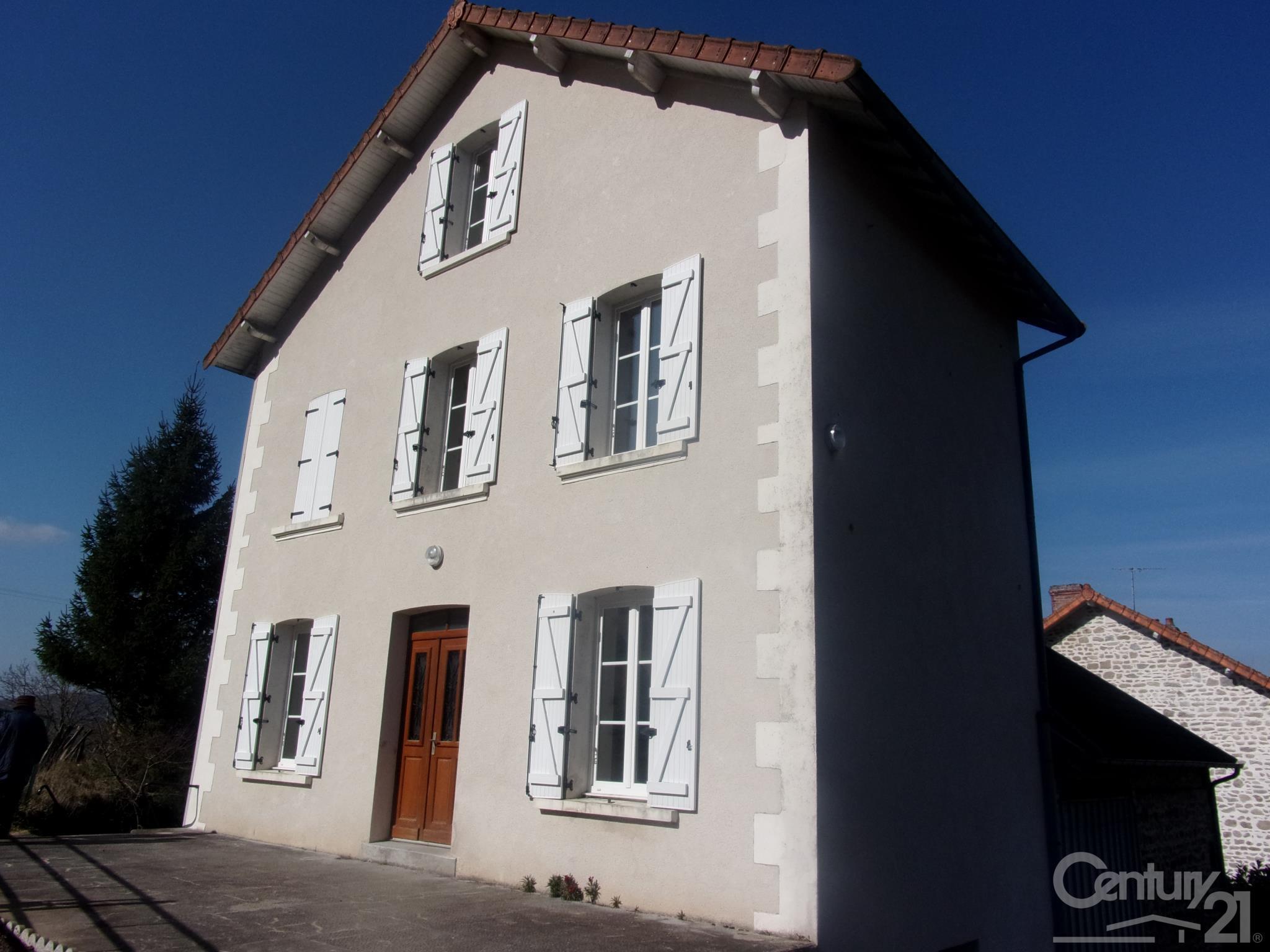 Maison à louer - 4 pièces - 90 m2 - SARDENT - 23 - LIMOUSIN